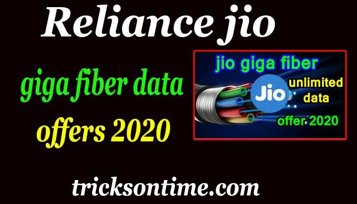 reliance jio giga fiber plans